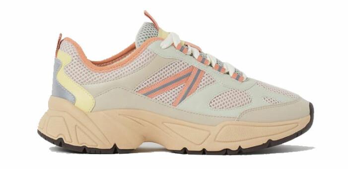 färgglada sneakers hm