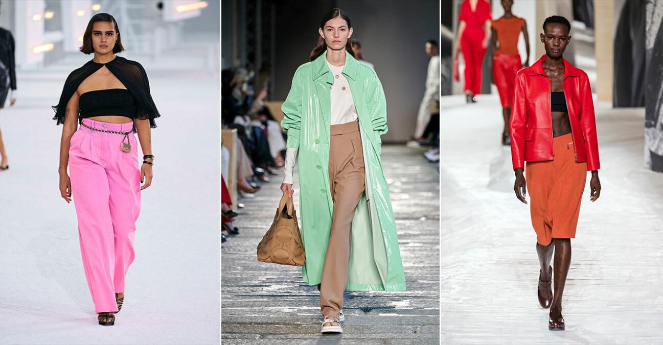 Viktigaste trendfärgerna våren 2021