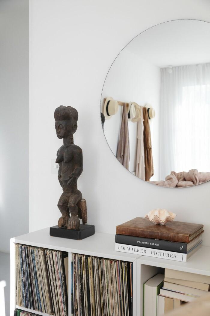 Färingsöhuset Malin Cropper Elle Decoration skulptur sovrummet