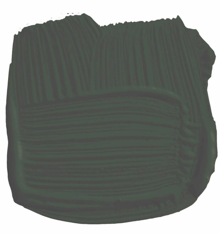 Färgstarka shoppingtips för vardagsrummet, mörkgrön väggfärg från Farrow & Ball