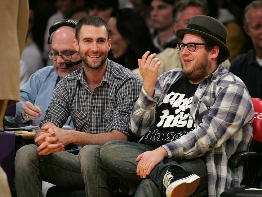 Adam Levine och Jonah Hill står varandra väldigt nära.