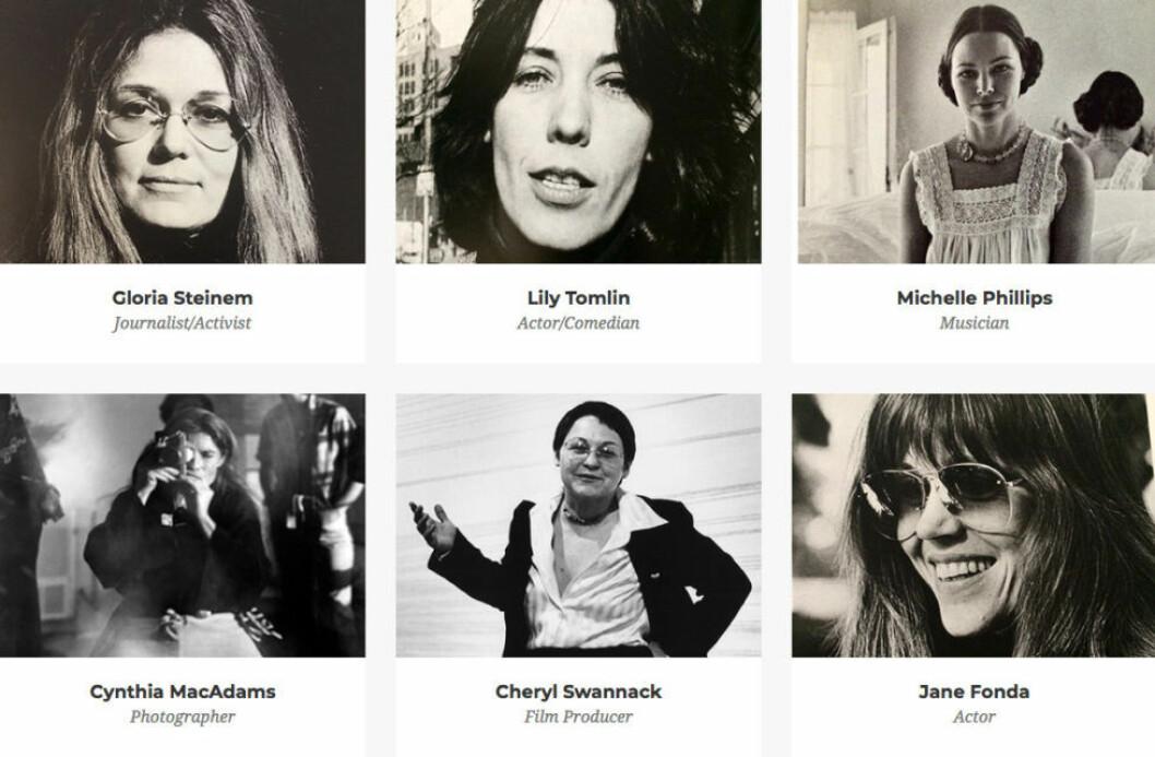 Här är några av kvinnorna som förekommer i boken och dokumentärfilmen