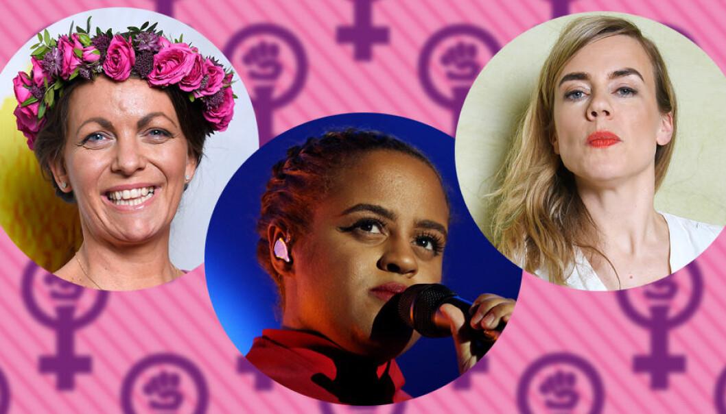 Tips på feministiska sommarvärdar i Sommar i P1, sommarpratare, genom åren.