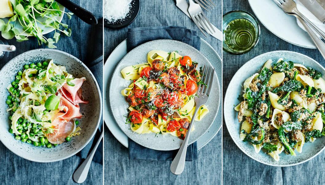Skapa en festligare pasta med rätt tillbehör