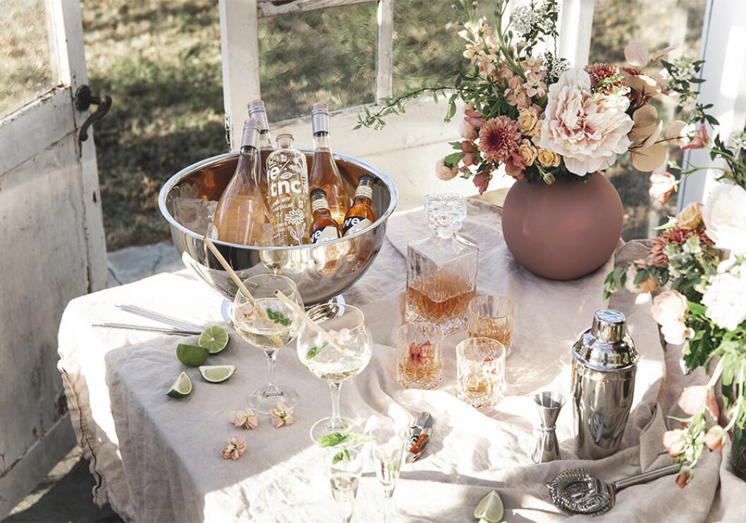 Champagnekylare till sommarens fester