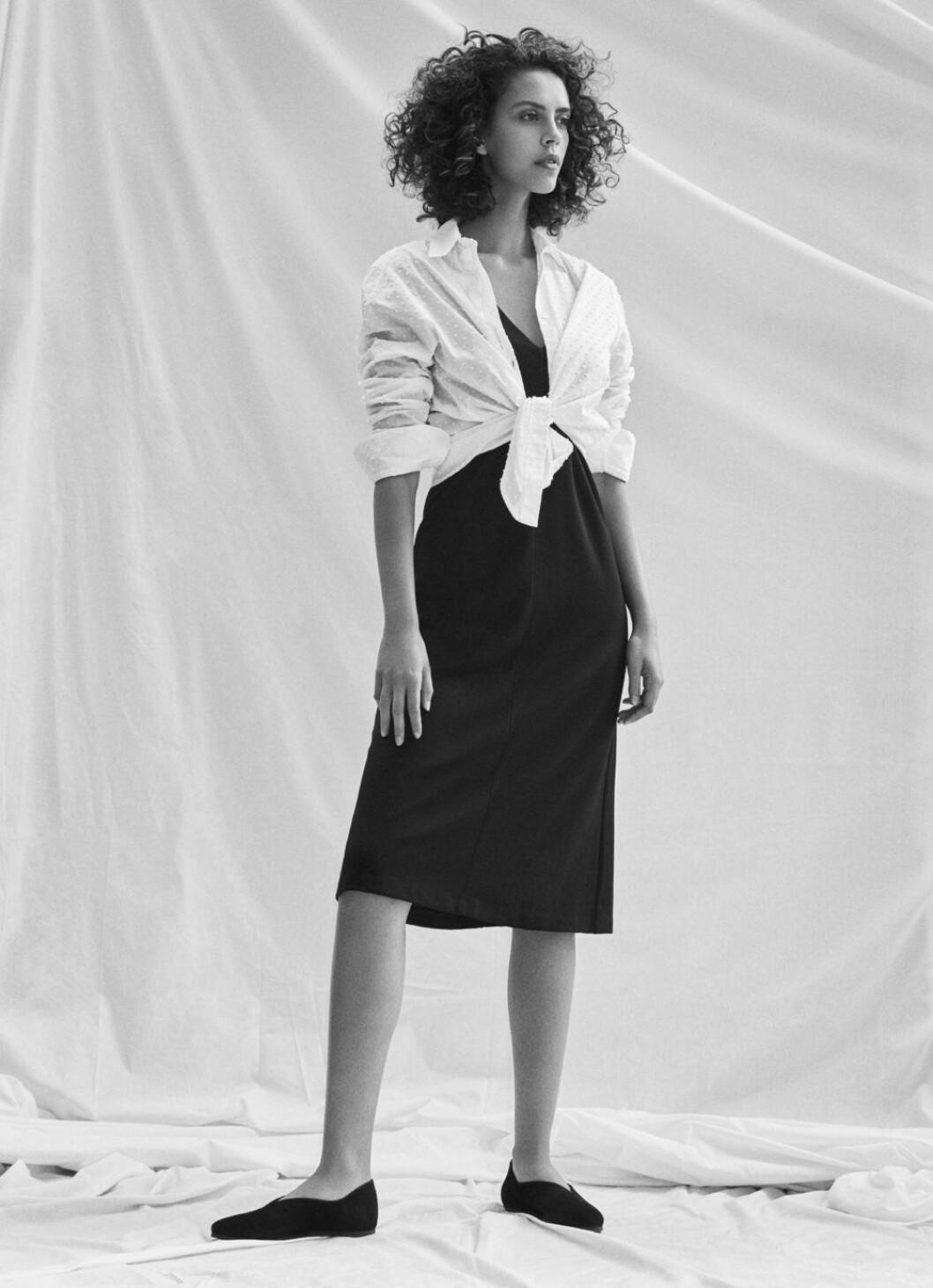 Kampanj med nyckelplagg från Filippa K, visar hur du klär dig smart.
