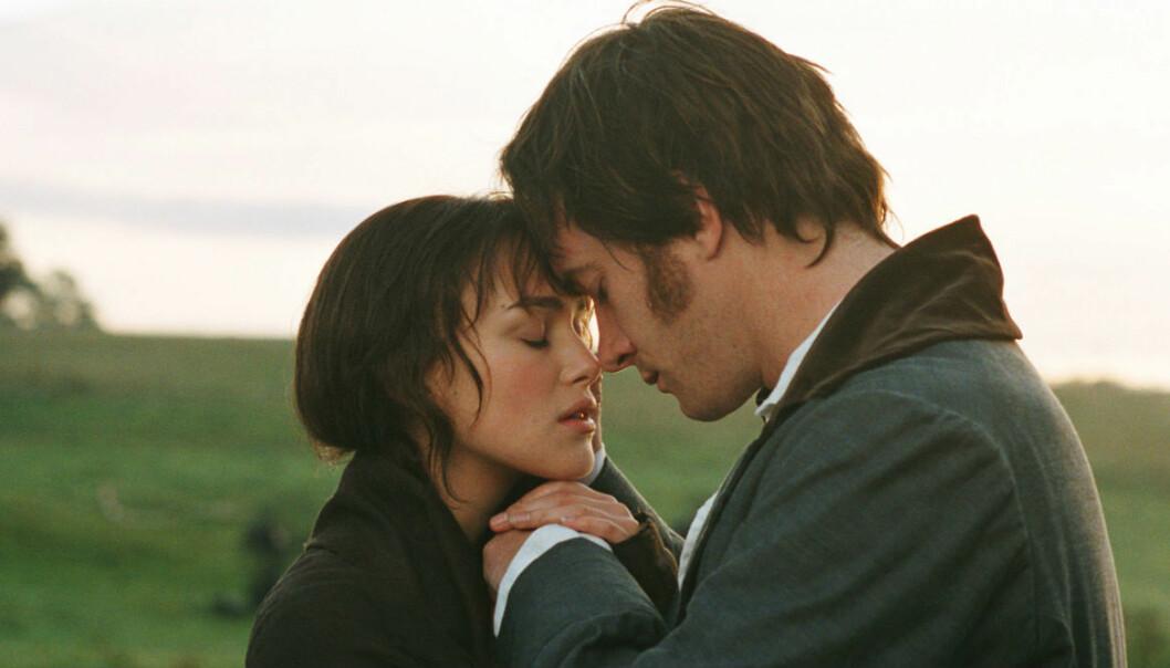 De mest romantiska ögonblicken i tv och filmer.