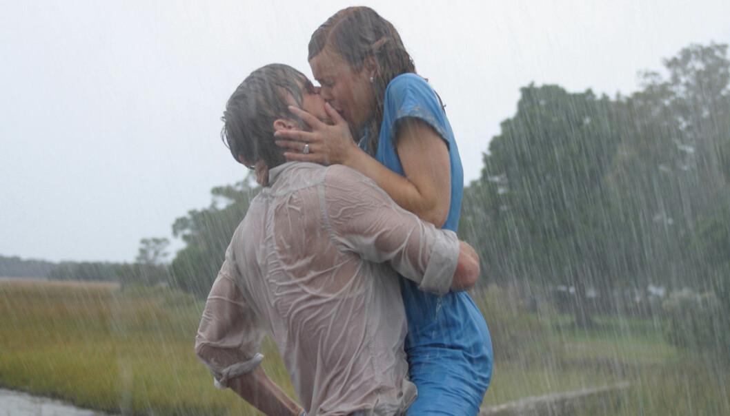 Rachel McAdams och Ryan Gosling i The Notebook