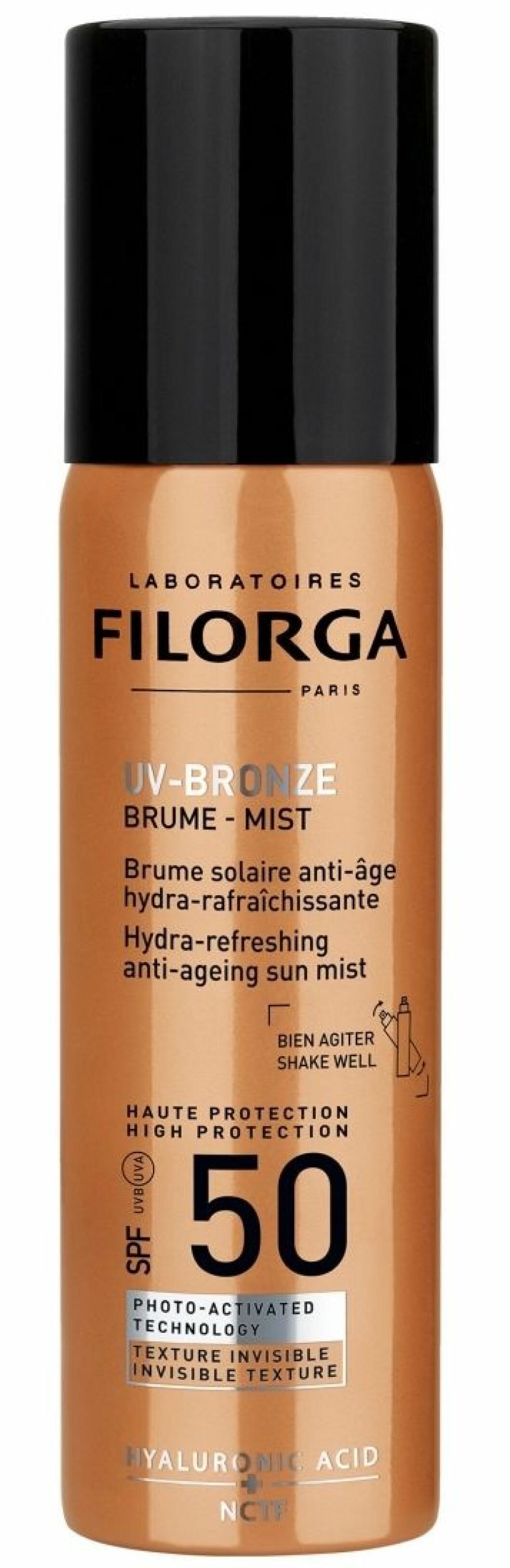 UV bronze mist SPF 50+ från Filorga