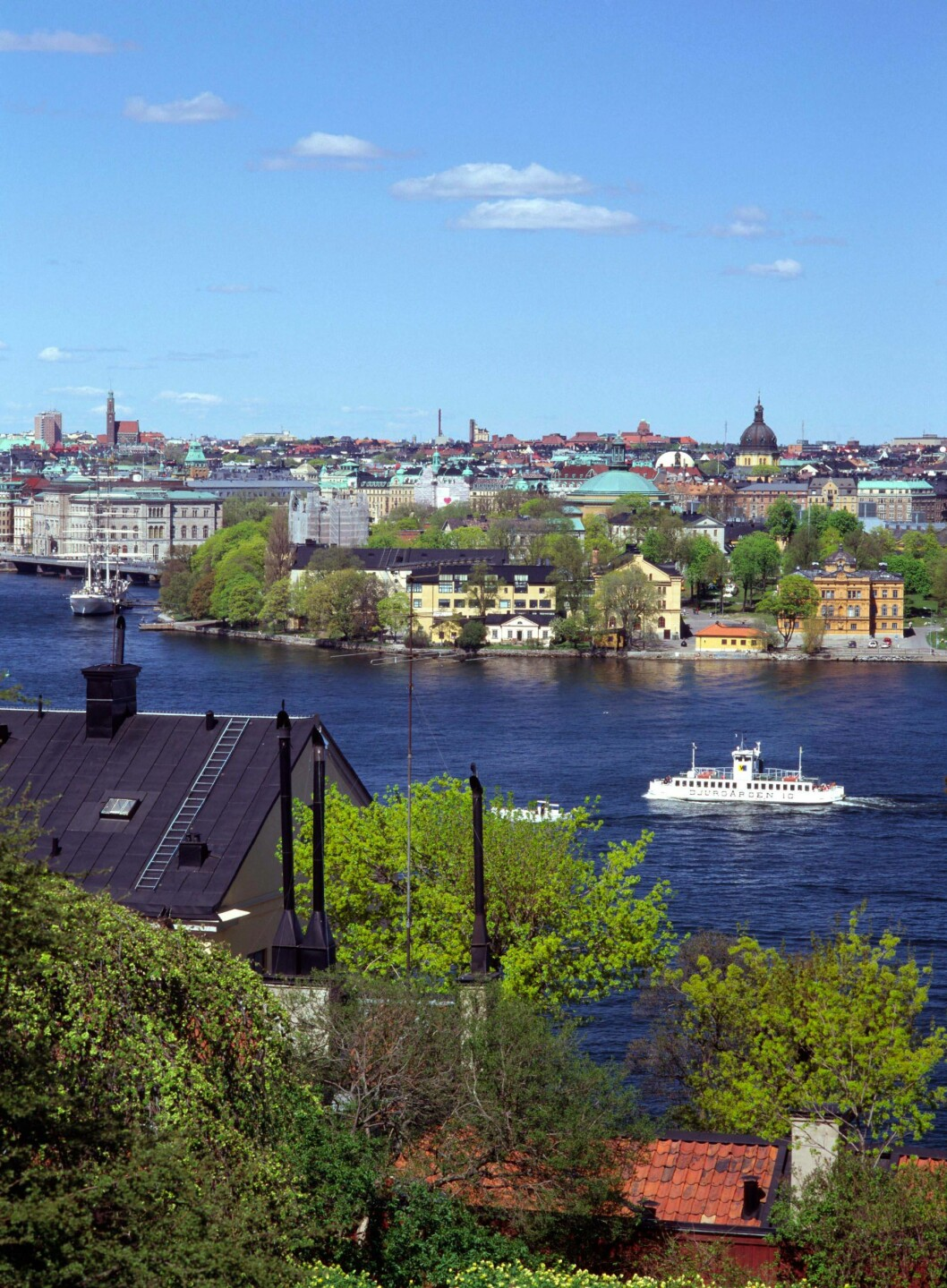Fjällgatan på Södermalm