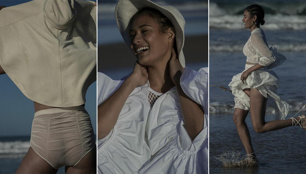 Så stylar du den vita strandlooken i sommar