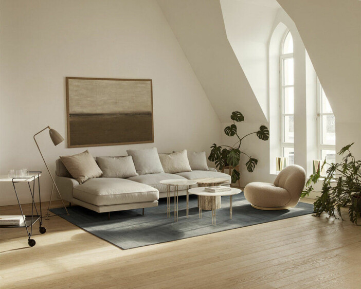 flaneur sofa från gubi