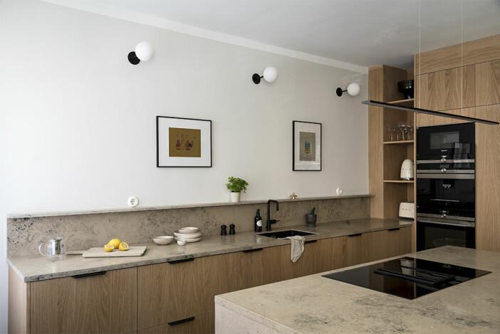 Flat Oak från Bucks & Spurs – träluckor till Ikea-kök