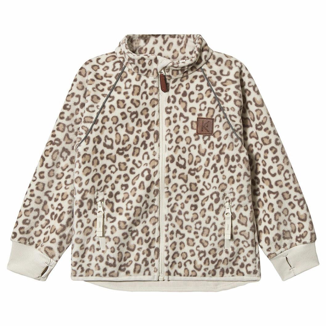 Leopardmönstrad fleece från Kenza Kuling