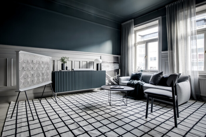 flexibel möblering med tv