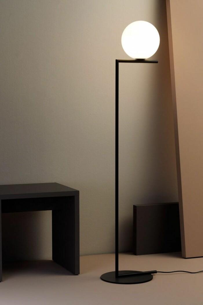 Golvlampan IC Lights från Flos är en stilsäker designklassiker