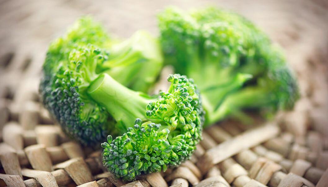 Broccoli kan orsaka en uppsvälld mage.