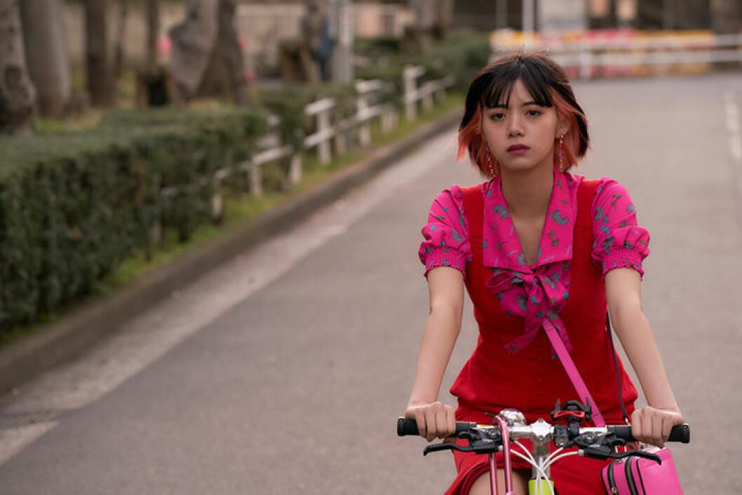 En bild från tv-serien Followers, som har premiär på Netflix den 27 februari.