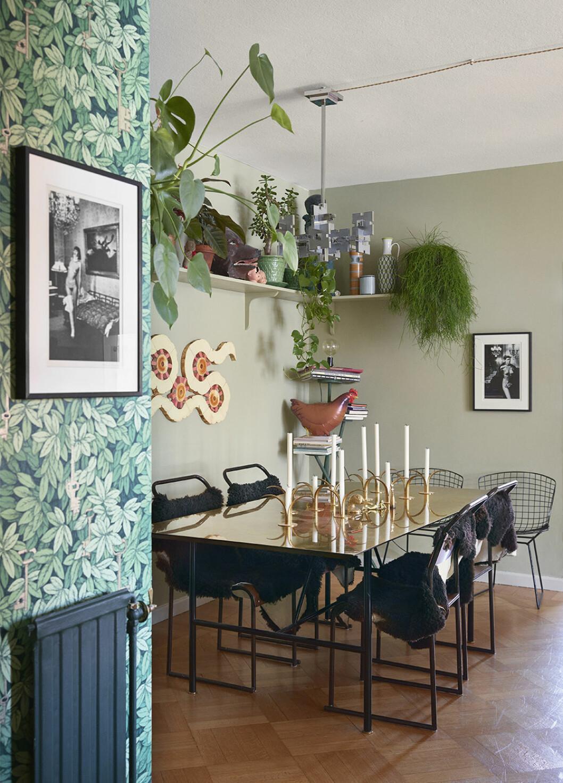 Matplats hemma hos Ursula Wångander