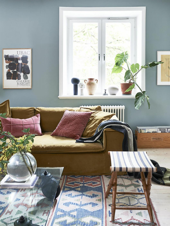 Vardagsrum hemma hos Sofia Wood