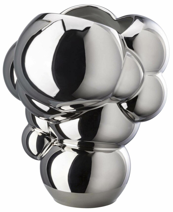 Formstarka vasen Skum vase från Rosenthal med bubbligt uttryck.