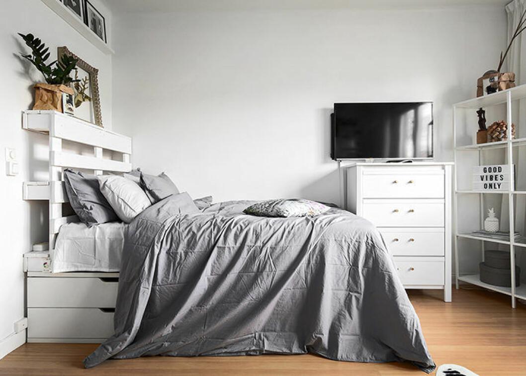 Compact living: Förvara under sängen för att frigöra plats