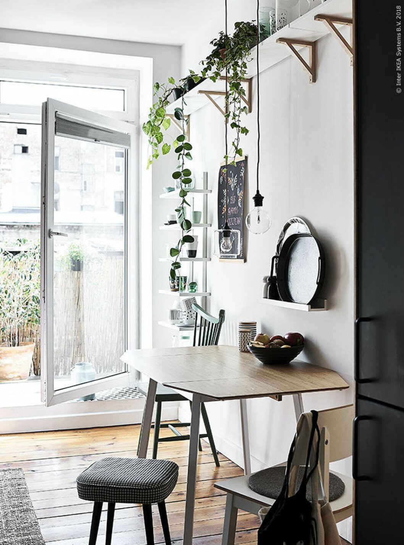 Compact living-tänk i köket