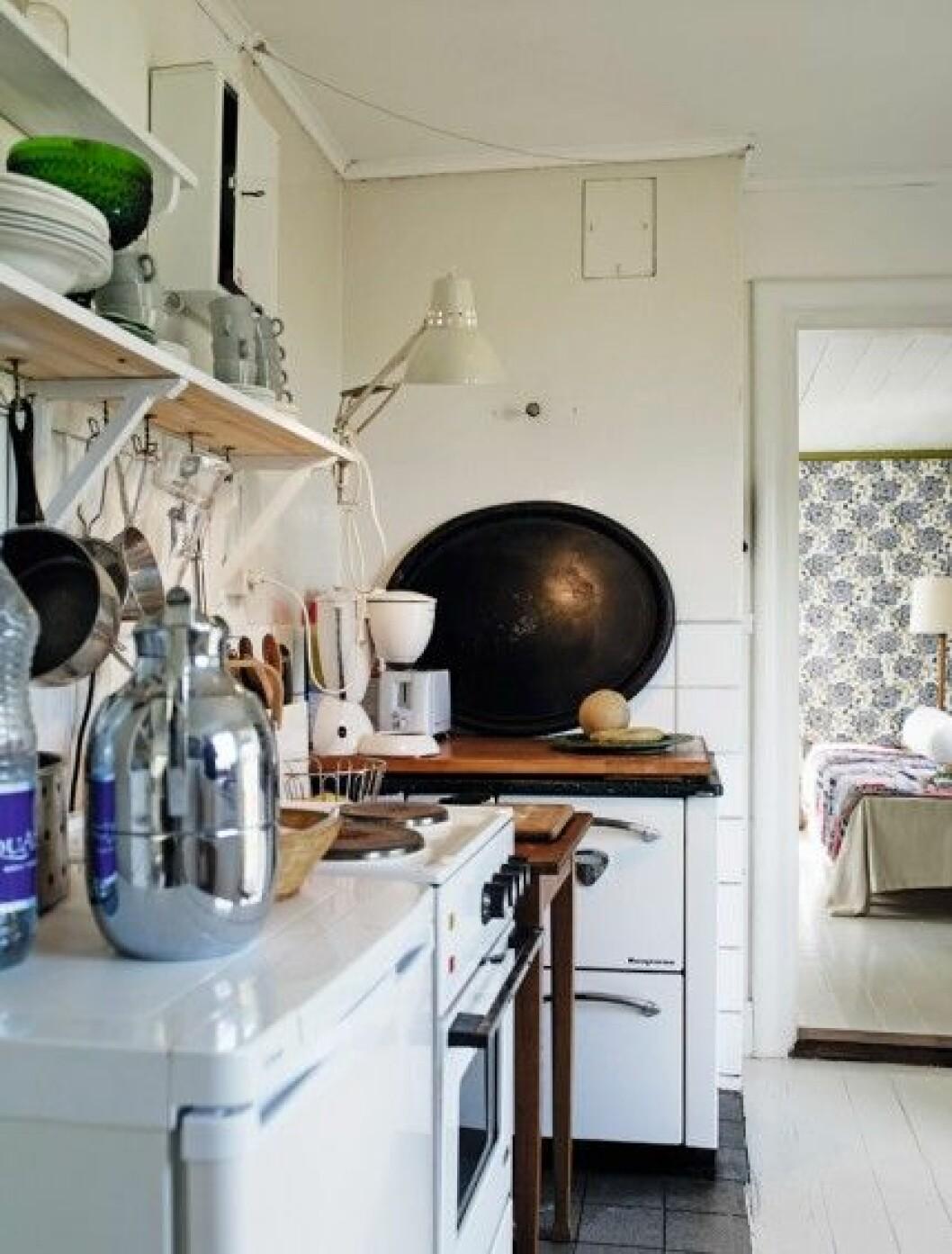 Foto-Pia-Ulin-Cilla-Ramnek-kitchen-old-school-retro-kok