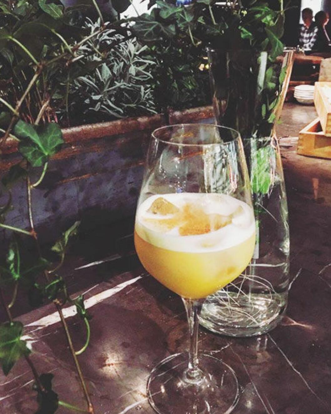 Fotografiskas bar och restaurang har ett bra utbud av alkoholfria drinkar.