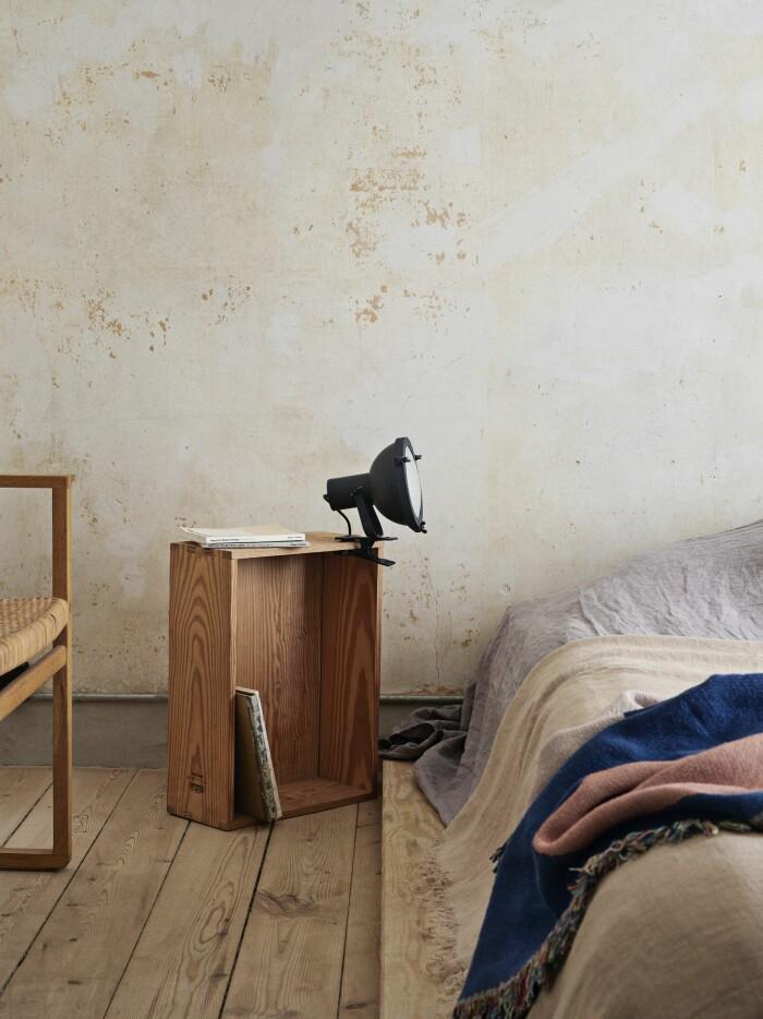 Frama Köpenhamn ELLE Decoration hemma hos Christophersen sovrum säng