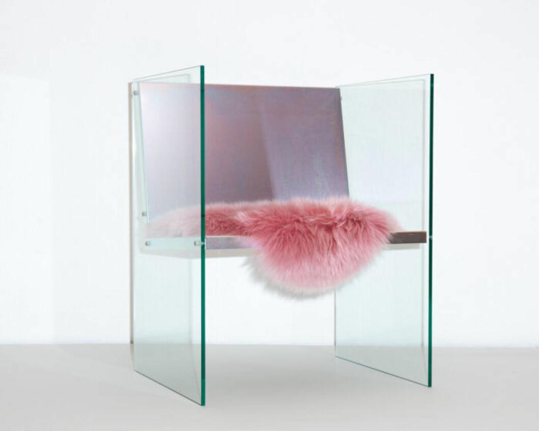 Steel Glass Chair av Fredrik Paulsen