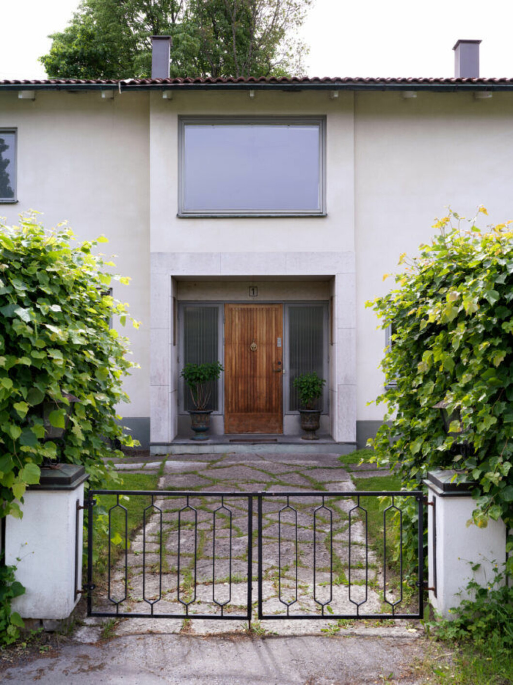 Frida Fahrman och Hampus Fahrmans hus