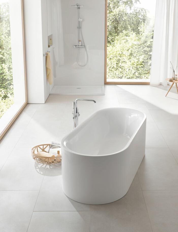 Fristående badkar från Grohe