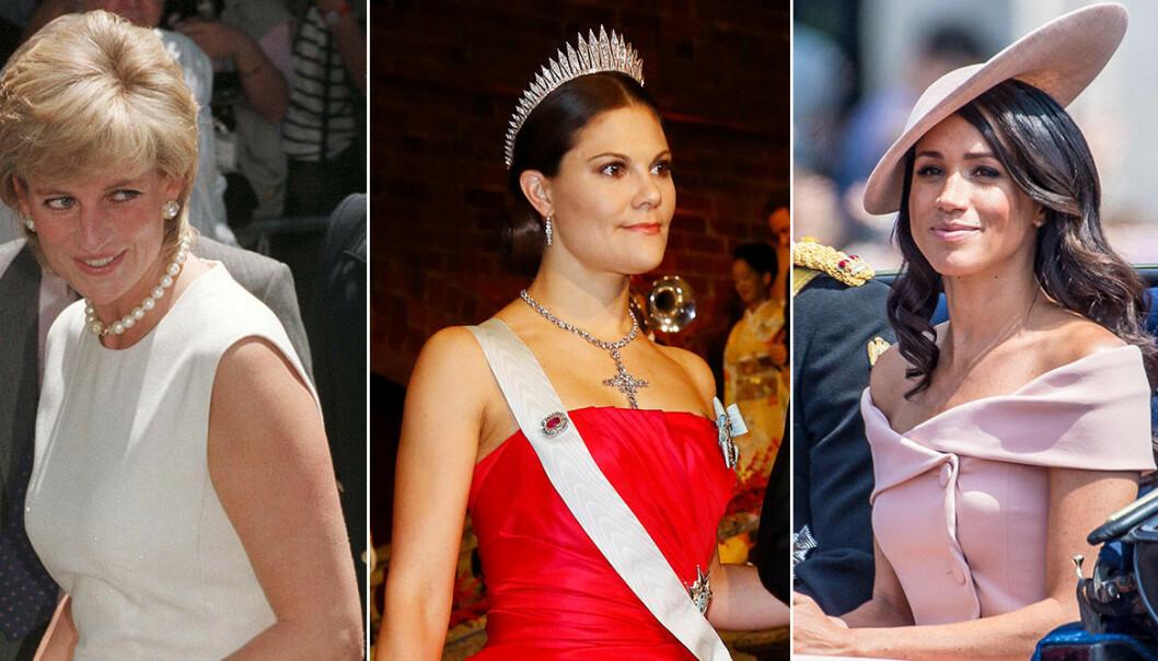 Diana, kronprinsessan Victoria och Meghan har alla brutit mot kungliga klädkoderna