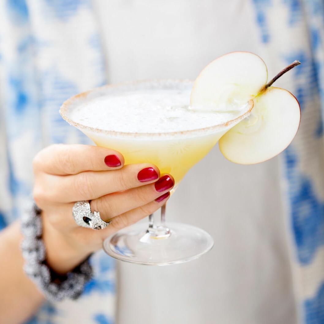Frozen apple pie martini.