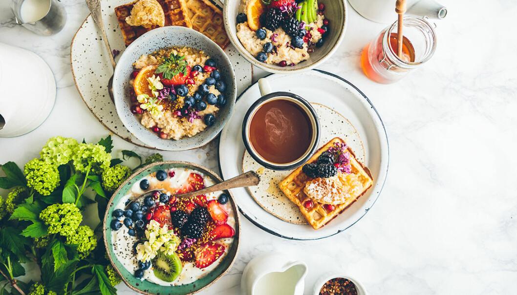 Vanliga frukostmissar