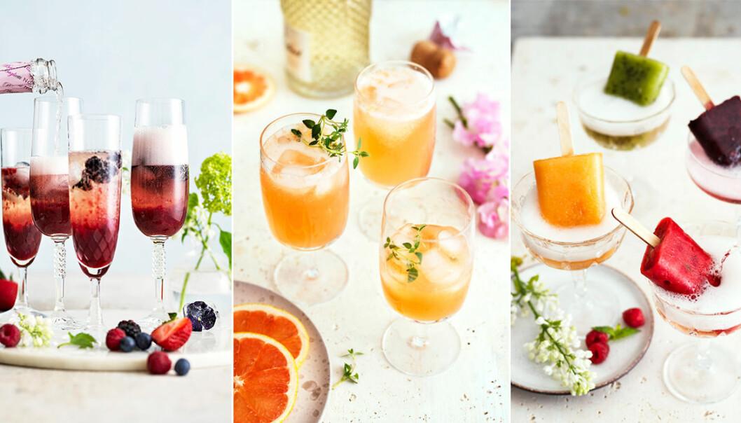 Recept på 4 festliga fruktdrinkar