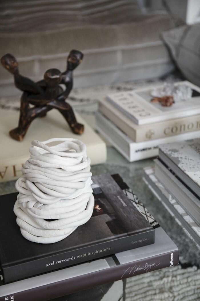 Hemma hos Gabriella Ferrero keramik sovrum