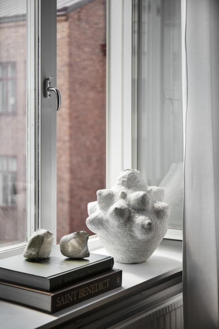 Hemma hos Gabriella Ferrero fönster keramik