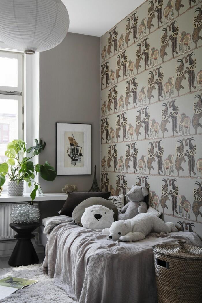 Hemma hos Gabriella Ferrero sonens sovrum