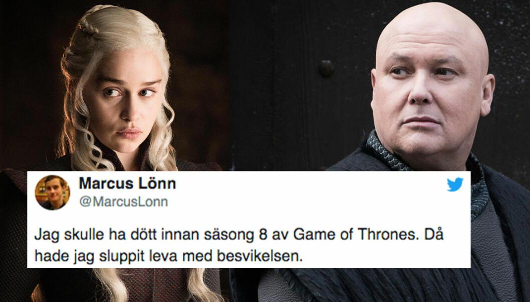 Daenerys och Varys i Game of Thrones avsnitt 5 säsong 8.