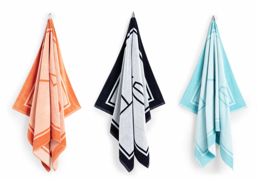 mönstrad strandhandduk från gant home