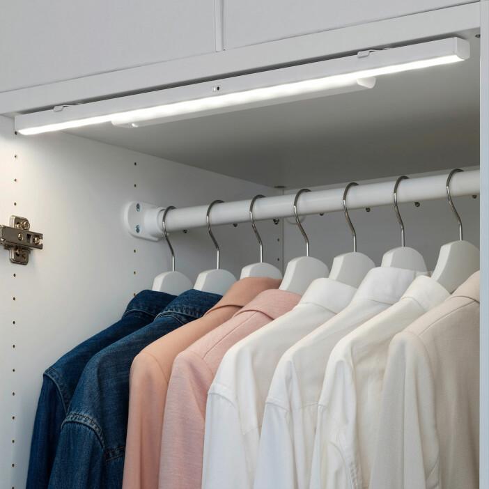 garderobsbelysning från Ikea