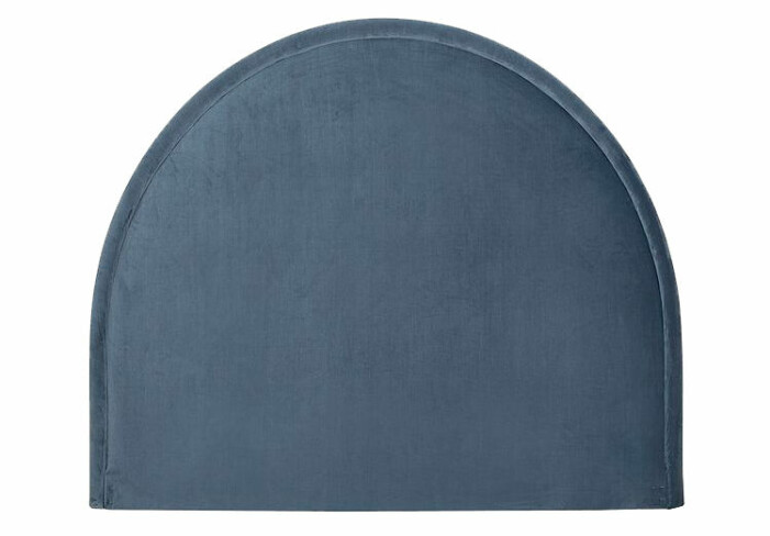 blå sänggavel