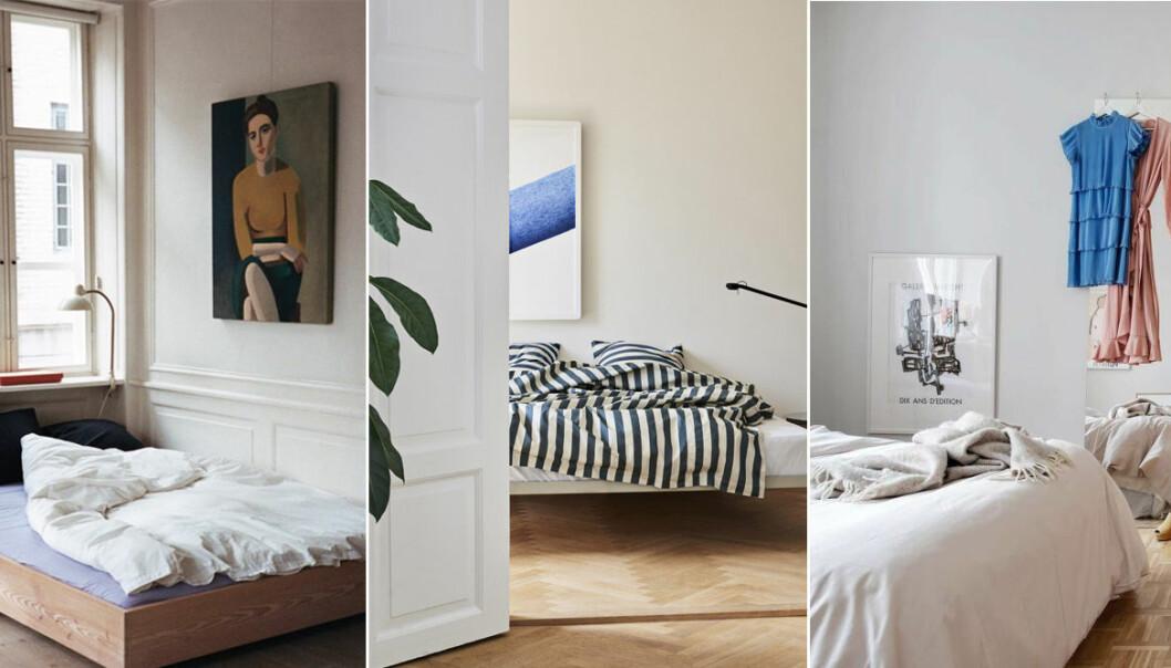 Ge sovrummet ett lyft på 5 minuter – 7 enkla och snabba inredningstips