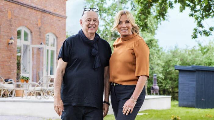 Gert Wingårdh och Anne Lundberg programleder Husdrömmar i SVT