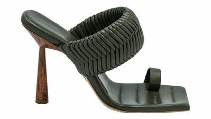 gröna sandaletter