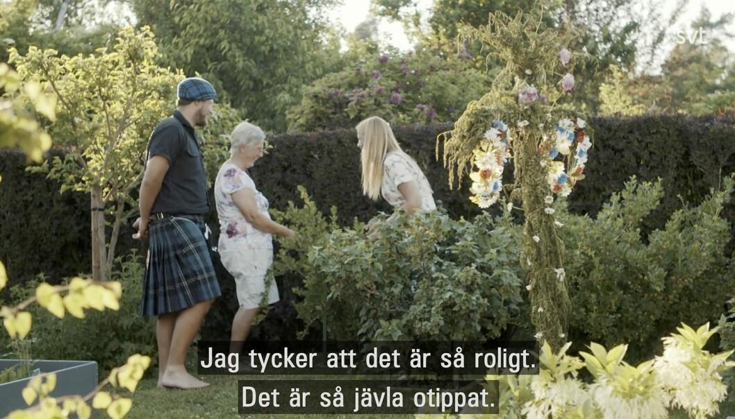 Gift vid första ögonkastet Johan Kilt