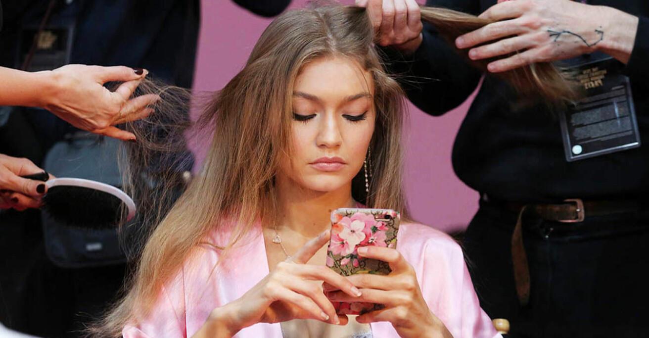Gigi Hadid mobiltelefon