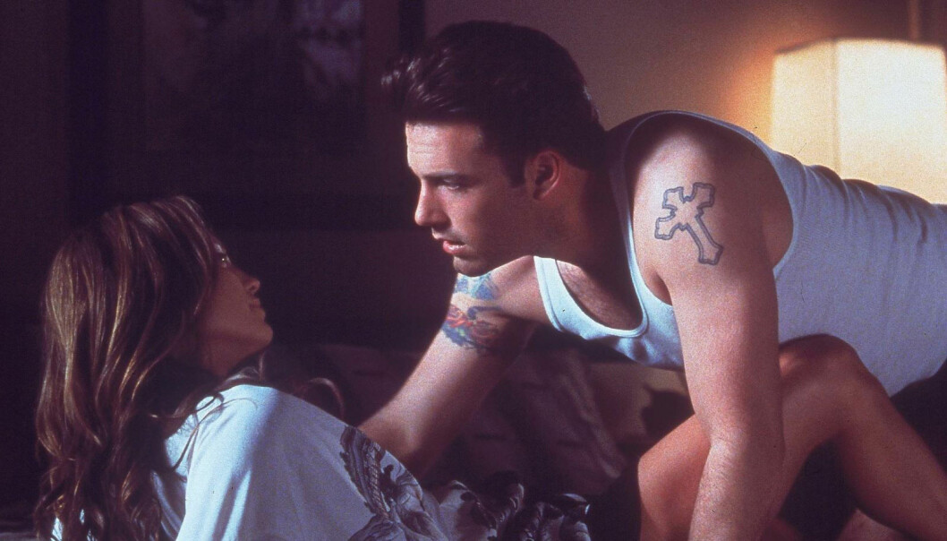 Ben och Jennifer i Gigli.
